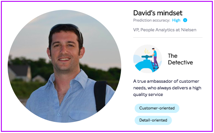 picture of David Salemme, VP of People Analytics and Emma Chrome plug-in screenshot